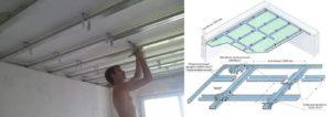 Навесной потолок – доступные варианты конструкций для монтажа своими руками
