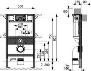 Высота инсталляции для унитаза – параметры выбора и способы установки