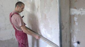 Выравнивание стен под обои своими руками