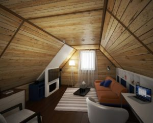Внутренняя отделка мансарды – делаем уютную комнату