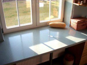 Подоконник-столешница в квартире – как сделать самому?