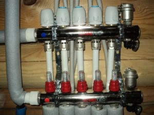 Типы сервоприводом для коллекторов водяных теплых полов