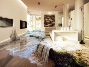Прозрачный наливной пол. Виды и аспекты дизайна