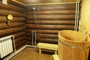 Моечная в бане – что нужно для полноценного отдыха
