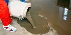 Наливной пол в доме – полная технология заливки самовыравнивающейся смеси