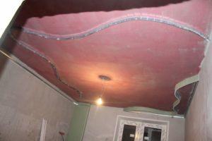 Как сделать красивый потолок своими руками