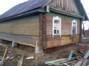 Восстановление или ремонт старого деревянного дома своими руками