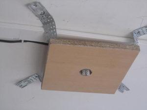 Установка закладных для натяжного и подвесного потолка