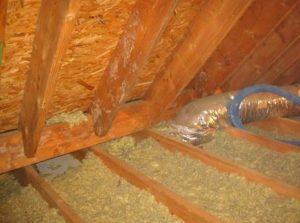 Как утеплить потолок опилками в частном деревянном доме