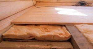 Утепление пола в деревянном дома своими руками – как правильно и чем лучше