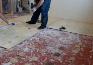 Ремонт пола в квартире – реставрация деревянного основания и установка нового покрытия