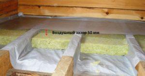 Пароизоляция для потолка в деревянном перекрытии – как сделать ее качественно и быстро