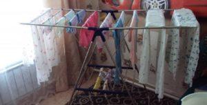 Почему опасно сушить мокрое белье в квартире – предостережения медиков
