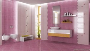 Плитка для ванной комнаты: фото и выбор