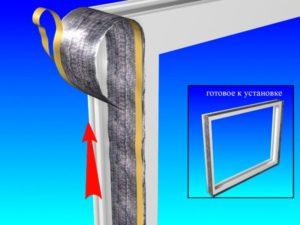 Пароизоляционная лента для пластиковых окон – где использовать и как клеить?