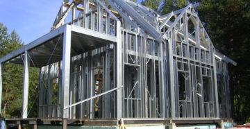 Дом из металлокаркаса – как построить теплое и долговечное жилище за месяц?