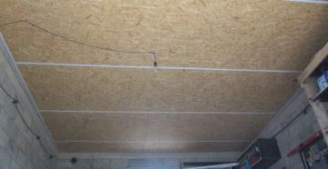 Чем и как обшить потолок в гараже своими руками красиво и дешево