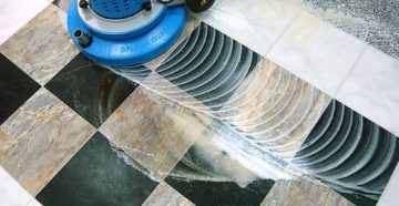 Шлифовка и полировка керамогранита: средства и методы реставрации