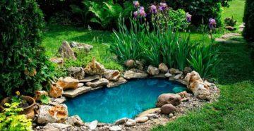 Бассейн своими руками – обустраиваем небольшое озеро на загородном участке