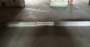 Стоимость бетонной стяжки пола за м<sup>2</sup>