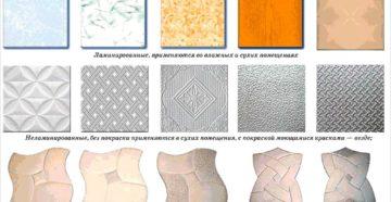 Размеры и виды потолочной плитки из пенополистирола