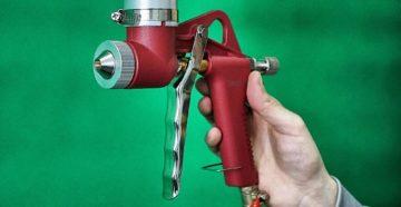 Картушный пистолет для штукатурки — надежное и эффективное оборудование
