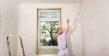 Как и чем покрасить потолок – выбор красок и последовательность действий