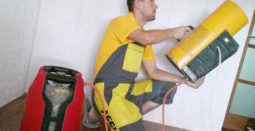 Инструменты и тепловые пушки для монтажа натяжных потолков