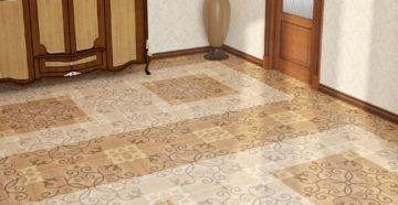 Выбор напольной плитки для коридора и кухни