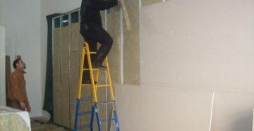 Гипсоволокнистая плита для стен – свойства, монтаж своими руками