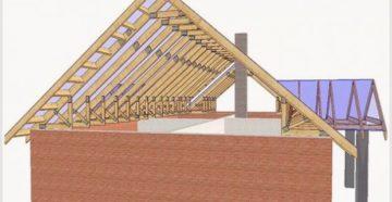 Двухскатная крыша возведенная самостоятельно – отличный способ сэкономить деньги