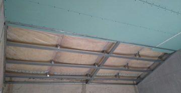 Стоимость и монтаж потолочного гипсокартона в хрущевке