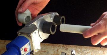 Сварочный монтаж пластиковых труб для водопровода – как провести?