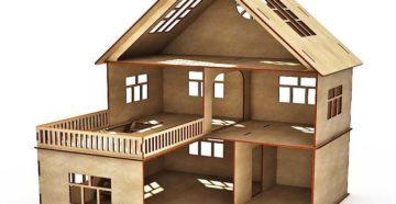 Как построить дом из фанеры своими руками