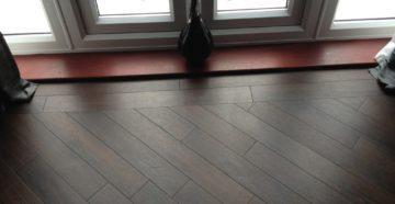 Укладка ламината в комнате – вдоль, поперек или по диагонали?