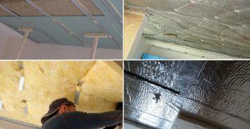 Современные материалы для звукоизоляции потолка в квартире