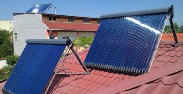 Солнечный коллектор – обеспечим дом бесплатной горячей водой