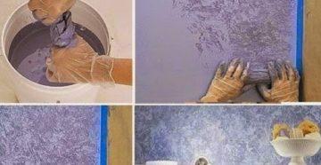 Покраска стен в ванной комнате – как создать долговечное покрытие своими руками?