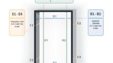 Размер дверного проема для двери 60–80 см  – как правильно делать замеры?