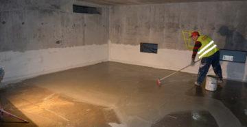 Ремонт гидроизоляции в доме