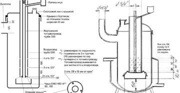 Печка на отработке из газового баллона – инструкция для самостоятельной сборки
