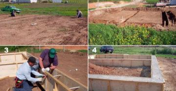 От фундамента до крыши – этапы строительства частного дома