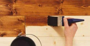 Чем покрыть вагонку внутри дома – средства и технология их нанесения