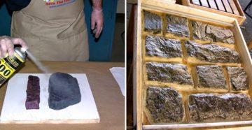 Формы для искусственного камня – из чего и как изготовить самому?