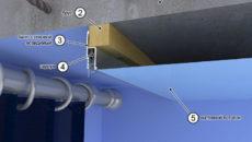 Технология изготовления ниши для штор в подвесном и натяжном потолке