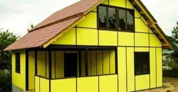 Дом из сэндвич-панелей – строим сами, быстро и надежно