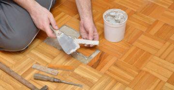 Ремонт паркета в домашних условиях – как восстановить дорогое покрытие своими руками