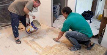 Выравнивание деревянного пола – выбираем и применяем оптимальную методику!
