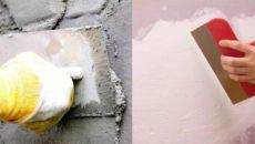 Чем отличается шпаклевка от штукатурки – разбираемся в теме