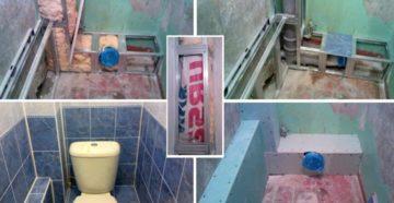 Ремонт туалета – заменяем сантехнику и облицовываем поверхности